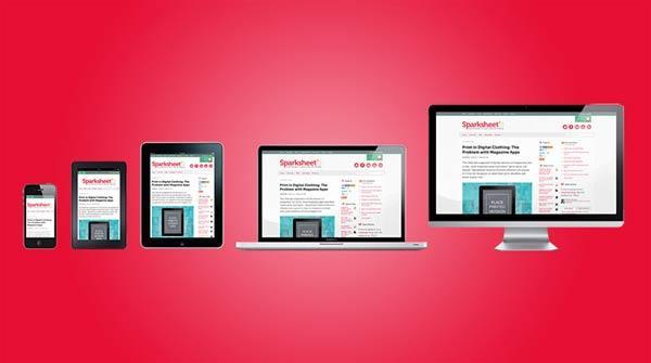 解读自适应网页设计图片
